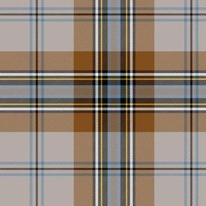 "MacLean of Duart tartan, 6"" weathered"