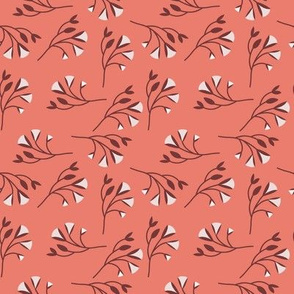 Sprig in Coral