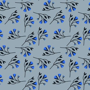 Sprig in Blue