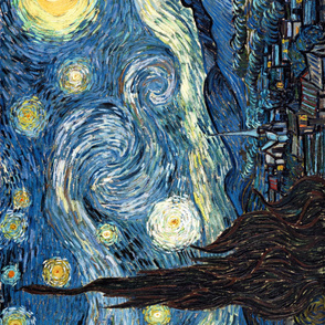 Van Gogh - The Starry Night (1889) (56x70)