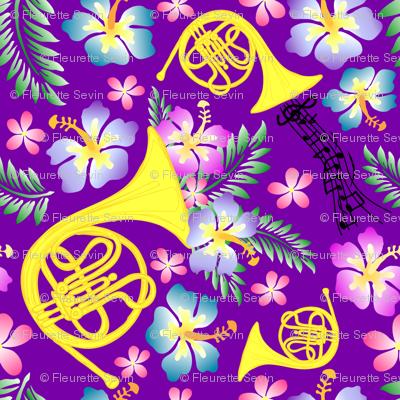Basic Purple Horn