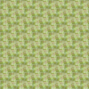 Beaded Basket Weave - Mustard