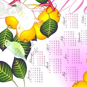 birds and fruit trees_2019_calendar