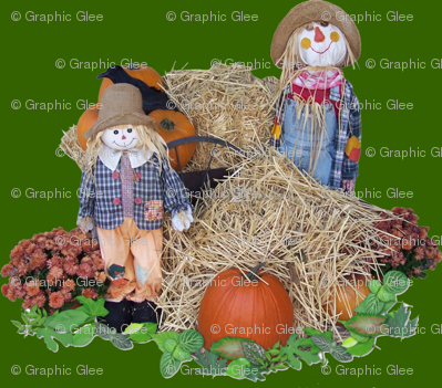Scarecrow Hangout by Graphic Glee