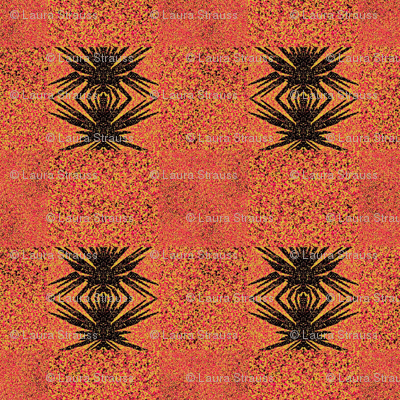 Anansi in Orange