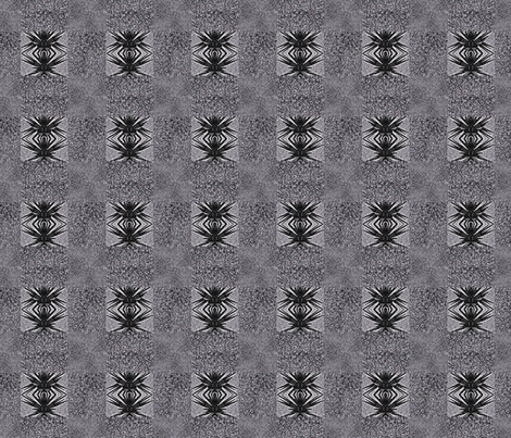 Anansi in Grey fabric by twigsandblossoms on Spoonflower - custom fabric