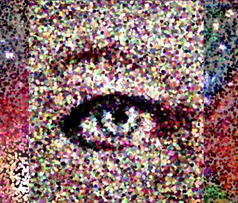 Eye of the Beholder fabric by swissacake on Spoonflower - custom fabric