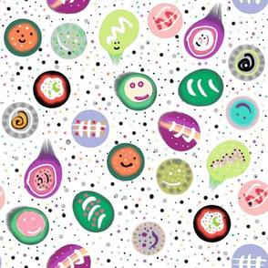 Sushi Confetti Bright
