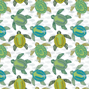 sea turtles (Bold)