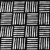 Mudcloth Print // Black
