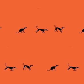 Sociable_Hounds-Black_On_Orange