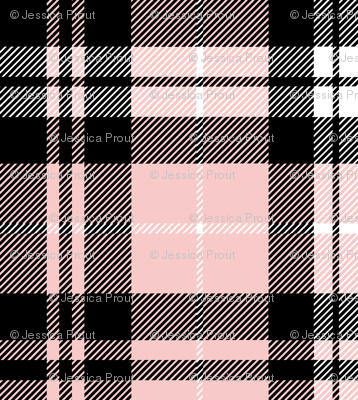Fall plaid (Pink, Grey, Black)