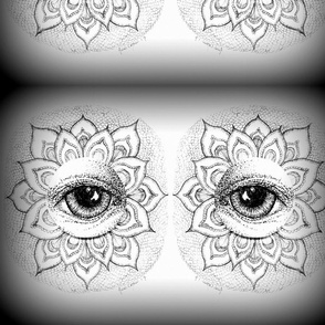 Eye_See_Lotus_Black&White