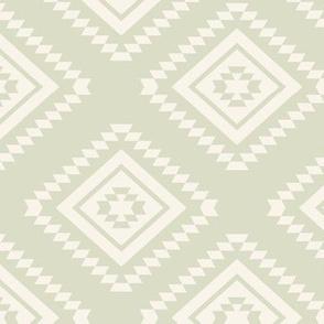 Aztec - Cream, Pale Marsh