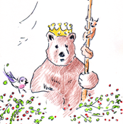 King Bear (White)