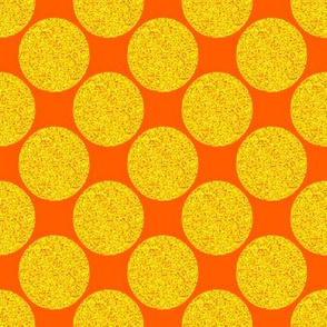 Pointillism Sun Dots