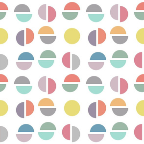 Broken circles - colorway 1