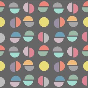Broken Circles - colorway 2