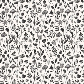 Folk Botanical Print (Tiny)