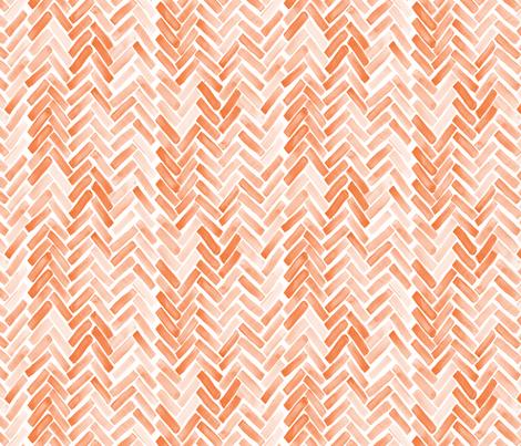 pink blush herringbone fabric by mrshervi on Spoonflower - custom fabric