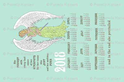 2018 Angel Calendar