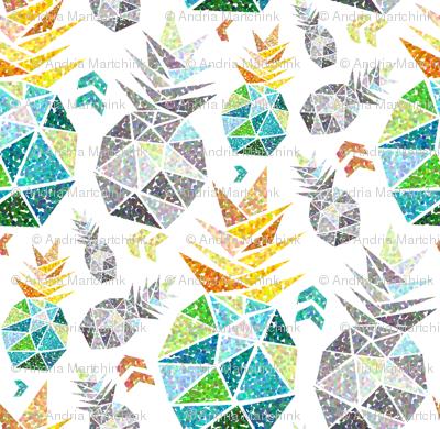 geometric_pineapple_pointillism