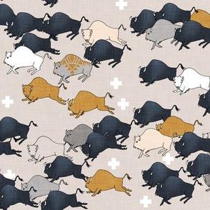 Buffalo stampede (small)