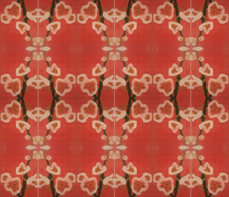 Red Poppys by Taylor fabric by rvrpoet on Spoonflower - custom fabric