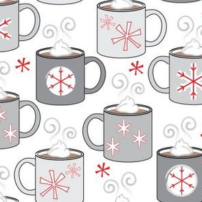 hot-chocolate-and-snowflakes