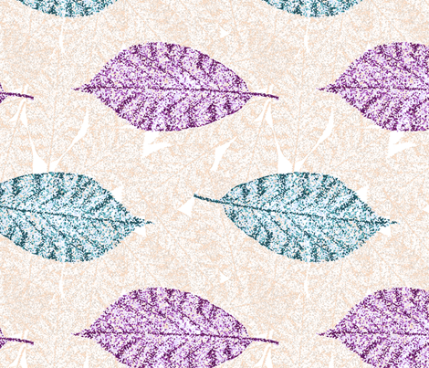 leaves fabric by diseminger on Spoonflower - custom fabric
