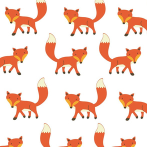 Foxes pattern