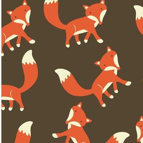 Little Foxes Pattern