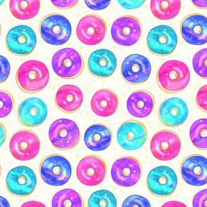 Bright Galaxy Donuts