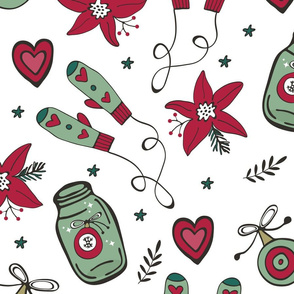 Happy Christmas pattern