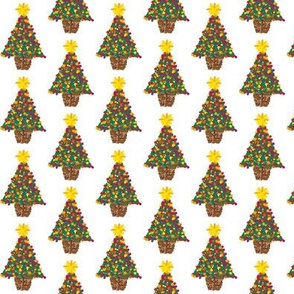 dotty christmas trees