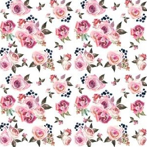 Dusty Rose Floral small