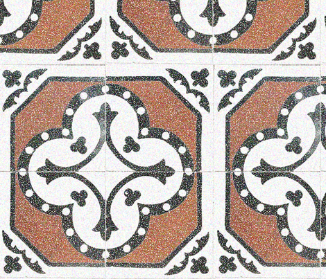 pointillisem-tile fabric by karinee on Spoonflower - custom fabric