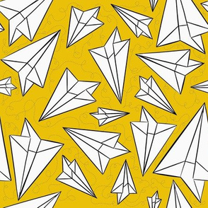 Paper Airplanes Mustard