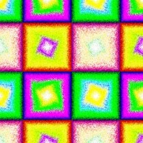recto x 4 swirl pointilist