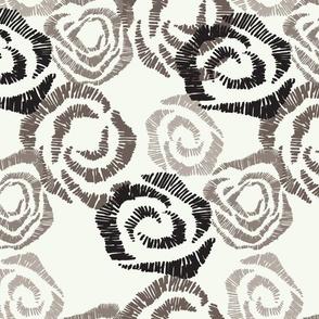 Field of Roses - colorway 1