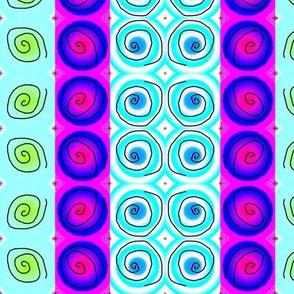 three-up spirals 2