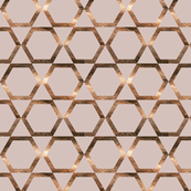 Geometric patterns pentagon