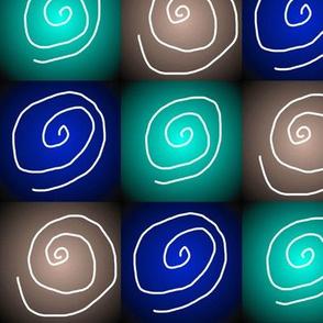 three up spirals 3