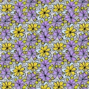 Dots & blooms Stripe