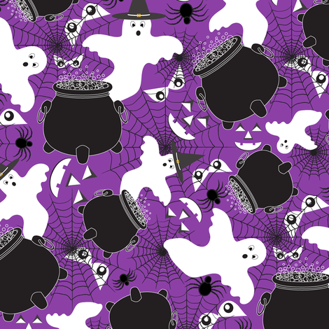 Trick-or-Treat (2) fabric by jjtrends on Spoonflower - custom fabric
