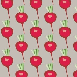 beets on linen