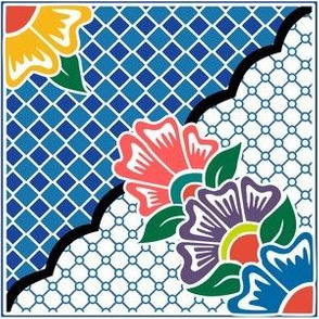 Multicolor Floral Talavera - Version 2