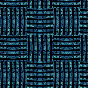 Weave in Teal