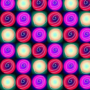 three-up spirals 6