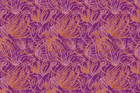 Seasonsthistles fabric by sarahjanke on Spoonflower - custom fabric